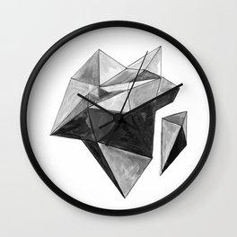 50 Shades of Polygons I Wall Clock