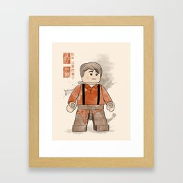 Captain Tightpants (Lego Firefly) Framed Art Print