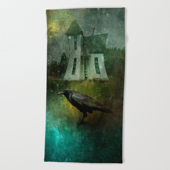 Crow House Beach Towel
