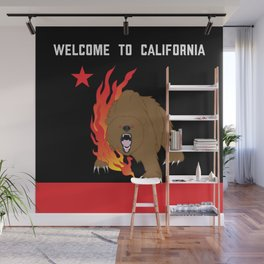 Welcome to California Wall Mural