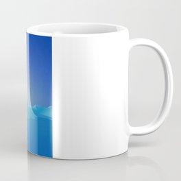 Ice Cold Blue Coffee Mug