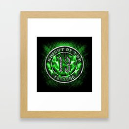 Knight of the Fortune Framed Art Print