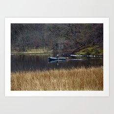 Morning on Loch Craigallian Art Print