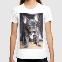 french bulldog T-shirts featuring French Bulldog by Falko Follert Art-FF77
