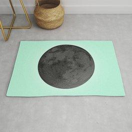 BLACK MOON + TEAL SKY Rug