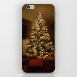 "Christmas Tree - ""W"" iPhone Skin"