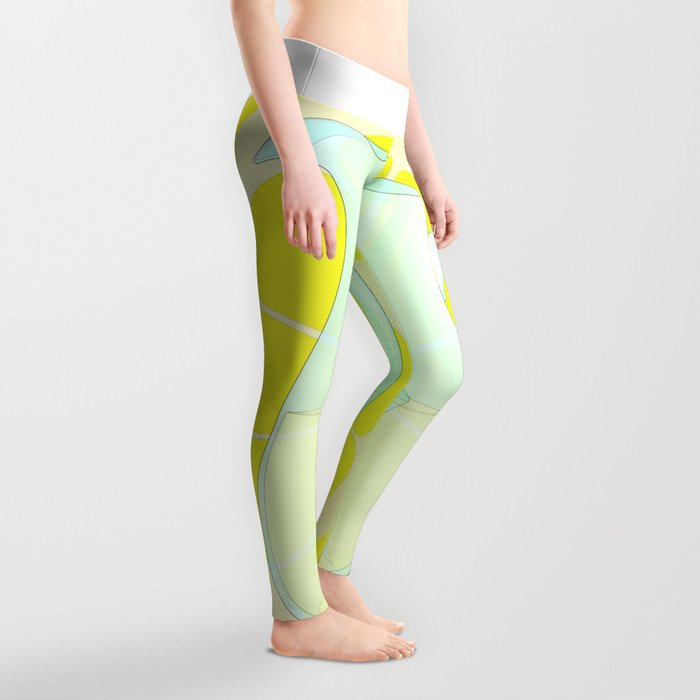Lemonade With Slice Leggings