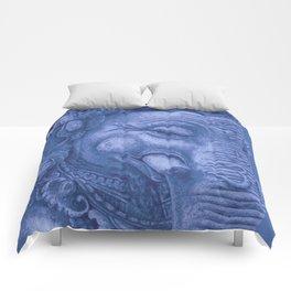 Ganesha blue Comforters