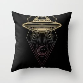 Galactic Federation of Light Throw Pillow