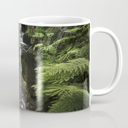 Double Falls  Quinault Rain Forest Coffee Mug