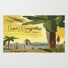 Vintage poster - Los Angeles Rug