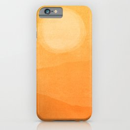 Abstract Afternoon Landscape iPhone Case