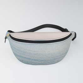 PINK SKY, BLUE SEA, EVENING SWIM Fanny Pack