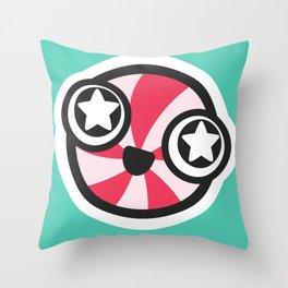 Starry-eyed Throw Pillow