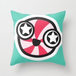Starry-eyed Throw Pillow