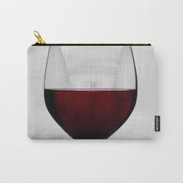 Red wine and naked woman Carry-All Pouch