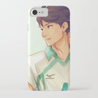 viria iPhone & iPod Cases featuring Oikawa by viria