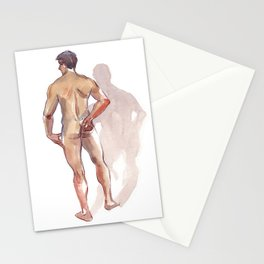 RENATO JR, Nude Male by Frank-Joseph Stationery Cards