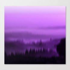 Purple Forest Haze Canvas Print
