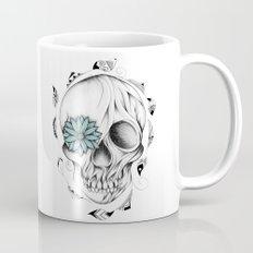 Poetic Wooden Skull Mug