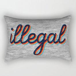 Illegal Rectangular Pillow