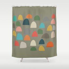 Modern Gumdrops Shower Curtain