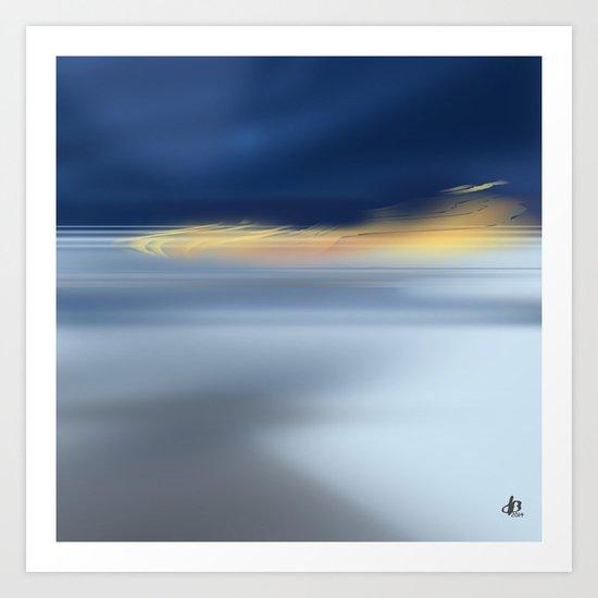 Midnight Sea Art Print