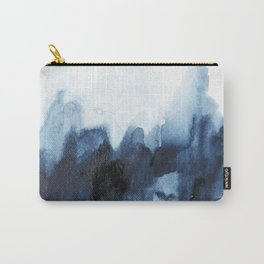 Indigo watercolor 2 Carry-All Pouch