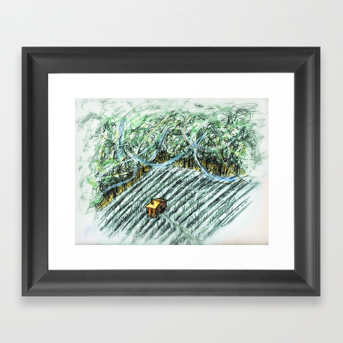Words of the Wind Framed Art Print