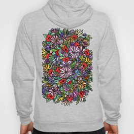 Mixed Flowers Hoody