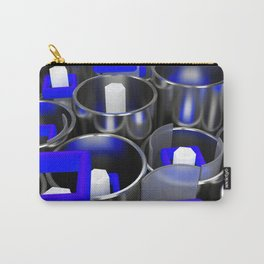 Metal tubes, hexagons and glass Carry-All Pouch