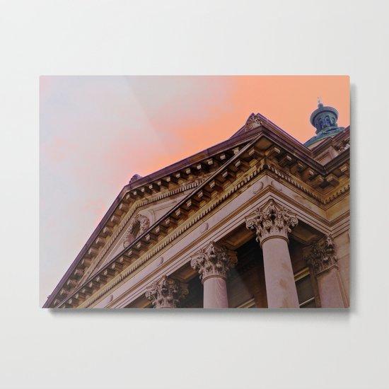 Courthouse Morning Metal Print
