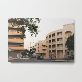 Streets Of Portugal Metal Print
