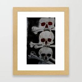 Sanguine Death Perception Framed Art Print
