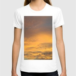 COME AWAY WITH ME - Autumn Sunset #2 #art #society6 T-shirt