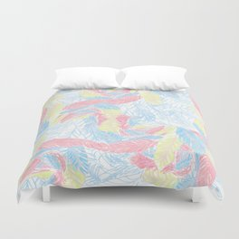 Light feathers Duvet Cover