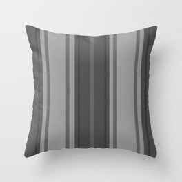 Complexities of Grey Throw Pillow