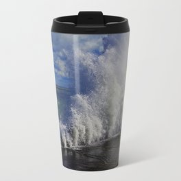 When Sandy Made Waves in Chicago #1 (Chicago Waves Collection) Travel Mug
