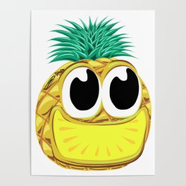 Cute Fruit Posters Society6