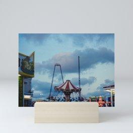 Seaside Heights Boardwalk, Jersey Shore Mini Art Print
