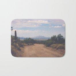 Down Desert Roads Bath Mat