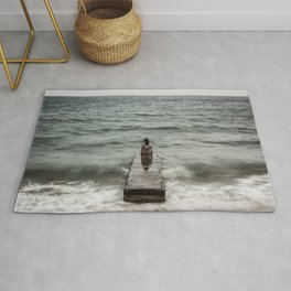 The Woman and the Sea Rug
