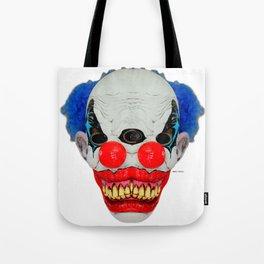 Creepy Clown Tote Bag
