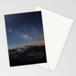 Clouds Rest Night Stationery Cards