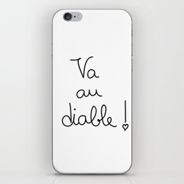 agre & doce #001 iPhone Skin