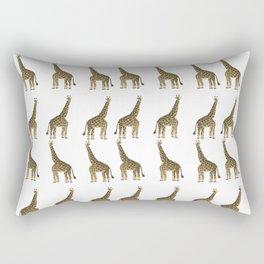 Giraffes Everywhere Rectangular Pillow
