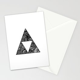 Triforce Zentangle Stationery Cards