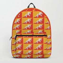flag of bhutan 2-Bhutan, Himalaya, South Asia,Bhutanese, bhoutan, bhoutanais Backpack