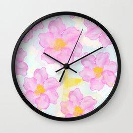 Dazed Flower Wall Clock
