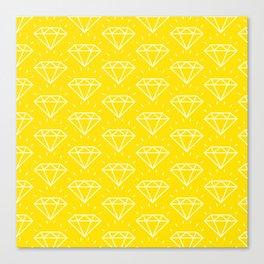 DIAMOND ((bumblebee)) Canvas Print